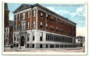 Louisville College of Dentistry, Louisville, KY Postcard *6W2