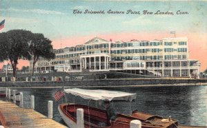The Griswold, Eastern Point, New London, Connecticut, Early Postcard, Used