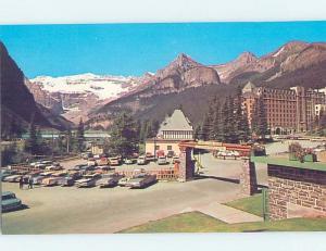 Unused Pre-1980 HOTEL SCENE Lake Louise Alberta AB B0526