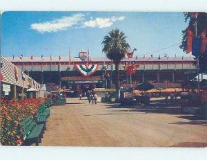 Pre-1980 COUNTY FAIRGROUNDS Fresno California CA AE8240