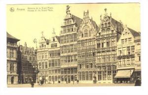 Anvers, BELGIUM, 00-10s ; Maisons de la Grand'Place