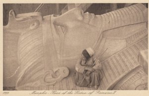 EGYPT , 00-10s ; Memphis , Head of the Statue of Rameses II