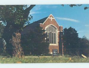 Unused Pre-1980 CHURCH SCENE Fort Sill - Lawton Oklahoma OK G3314
