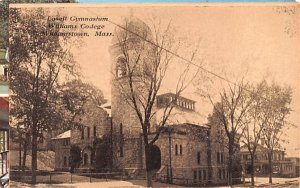 Lowell Gymnasium Williamstown, Massachusetts Postcard