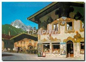 Modern Postcard Mittenwald Obb