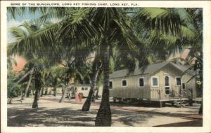 Long Key FL Keys Long Key Fishing Camp c1920 Postcard