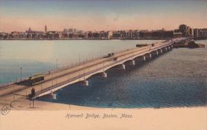 Massachusetts Boston The Harvard Bridge