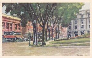 AS: SHERBROOKE, Quebec, Canada, 1900-10s; Le Carre Strathcona (Strathcona Squ...