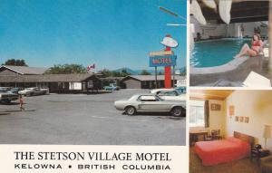 Swimming Pool, Stetson Village Motel, Harvey Avenue, Kelowna, B.C., Canada, 40-6