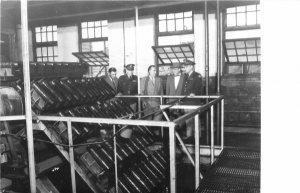 F49/ Newark Ohio RPPC Postcard REPRINT c1960s Roper Munitions Factory 1