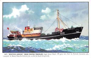 M.T. Boston Arrow near Water Trawler Single Screw Diesel, Harry Hudson Rodmell