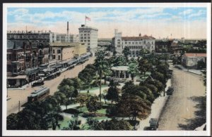 Texas Repro View of Alamo Plaza 1920 Sesquicentennial Post Card Series - Chrome