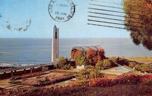 USA California The Wayfarers Chapel near Portuguese Bend Church 1961