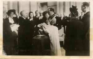 Dutch Royalty -  Baptism of Princess Marijke.   *RPPC