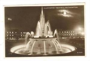 RP Illuminated Fountain, Southhampton, UK 20-50s