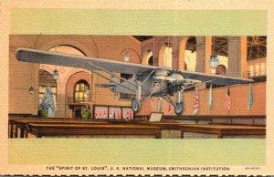Washington D C Smithsonian Institution Lindbergh's Spirit Of St Lo...