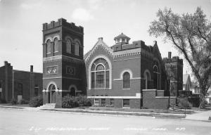 Madison Nebraska~First Presbyterian Church~Real Photo Postcard~1940s RPPC