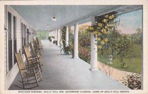 Florida Davenport Spacious Veranda Holly Hill Inn Home Of Holly Hill Groves