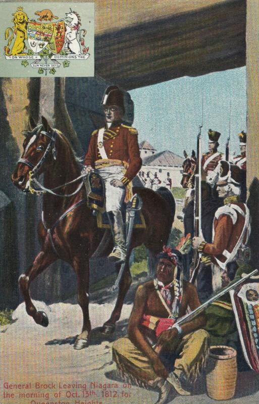 General Brock Leaving NIAGARA , Ontario , 00-10s