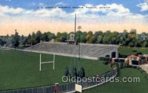 J.C. Donnell Memorial Stadium, Findlay, Ohio, USA Football Stadium, Postcard ...