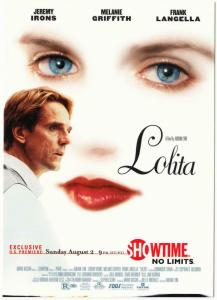 Postcard of Lolita 1997 Jeremy Irons Movie