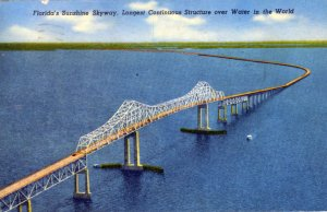 [ Linen ] US Florida St. Petersburg - Sunshine Skyway (2)