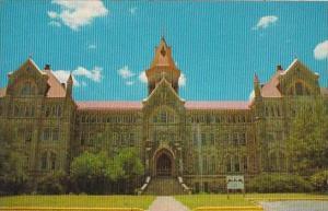 Texas Austin Old Main At Saint Edwards University
