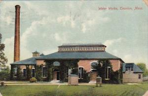 Massachusetts Caunton Water Works 1910