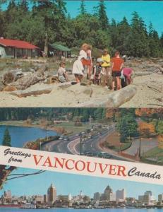 Vancouver Canada Beach 2x Postcard s