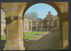 Northamptonshire Postcard - Kirby Hall, Inner Court From The Loggia T4270
