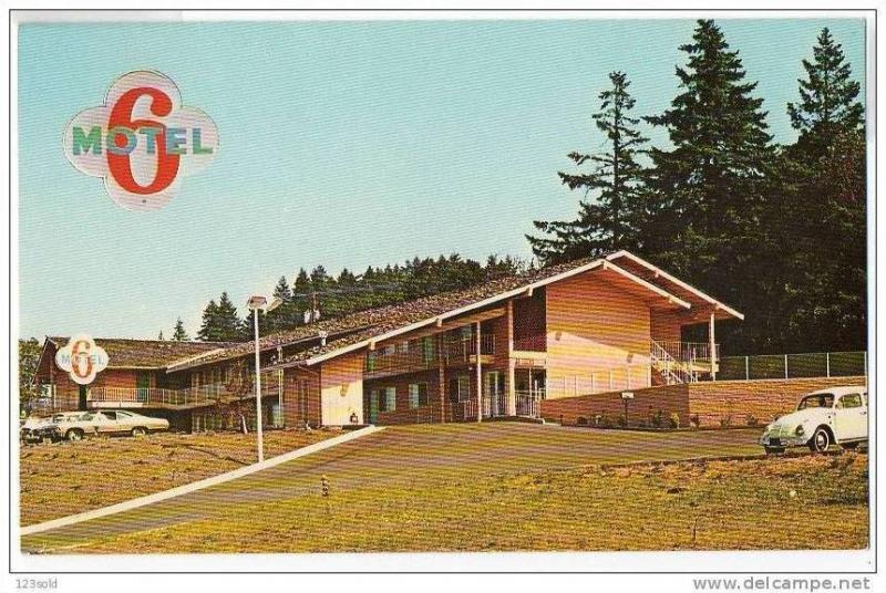 Motel 6 , Eugene , Oregon , 50-60s