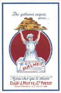Palmeo J Motte & Cie Yvetot Advertising Unused