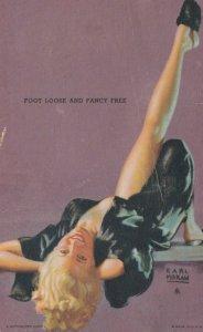 PIN-up ; 1930s ; Foot Loose & Fancy Free ; Earl Moran