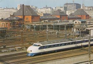 Tokyo Train Station In 1978 Postcard