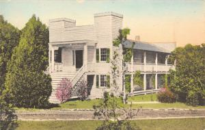 Huntsville TX~Handcolored~Where Sam Houston Died~Steamboat House~c1910 Albertype