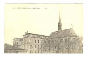 Le College, Saint-Dizier (Haute-Marne), France, 1900-1910s