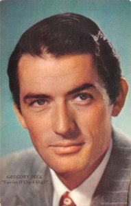 Gregory Peck American actor in suit and tie vintage pc ZA440831