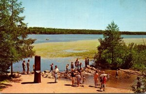 Minnesota Itasca State Park Headwaters Of The Mississippi River 1971