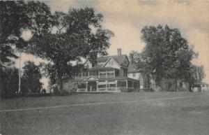 Burlington Vermont Oakledge Manor Exterior Vintage Postcard JD933845