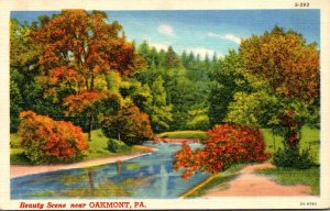 Pennsylvania Beauty Scene Near Oakmont Curteich