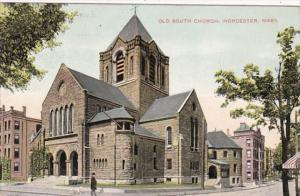 Massachusetts Worcester Old South Church 1908