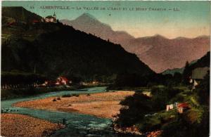 CPA ALBERTVILLE - La Vallée de l'ARLY et le Mont Charvin (652060)