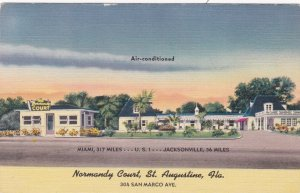 Florida St Augustine Normandy Court Hotel sk6940