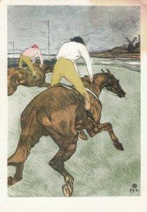 H. de TOULOUSE-LAUTREC - Le Jockey , 1980s