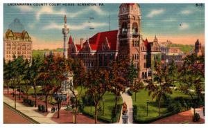Pennsylvania  Scranton ,   Lackawanna County Court House