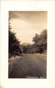 13035 NH Jackson 1930´s Five Mile Drive real photo