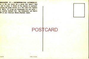 1967 MARLIN - AMBASSADOR 990 4-DOOR & DPL HARDTOP  your American Motors Dealer