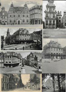 Netherlands - Hoorn Stadhuis, Kaasmarkt & more Lot of 20 with RPPC 01.05