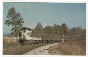 Southern Railway Railroad Train Piedmont Limited Atlanta Georgia postcard