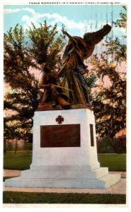 Georgia Atlanta , Peace Monument in Piedmont Park